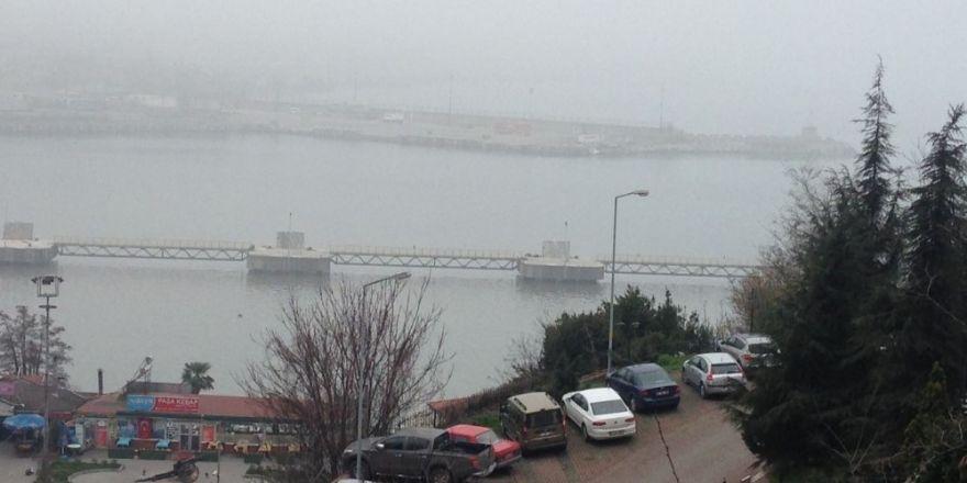 Zonguldak'ta yoğun sis