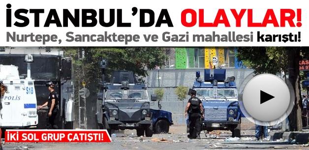 Sancaktepe ve Gazi mahallesi karıştı