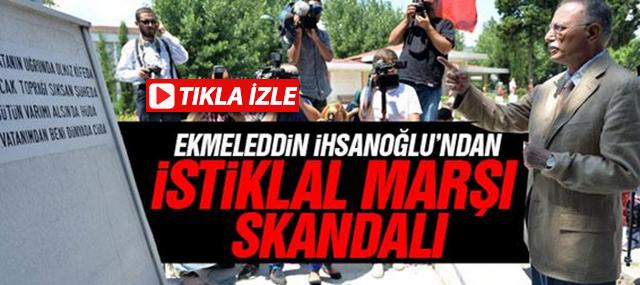 Ekmelledin İhsanoğlu, İstiklal Marşı'nı, Çanakkale Şiirine Benzeti