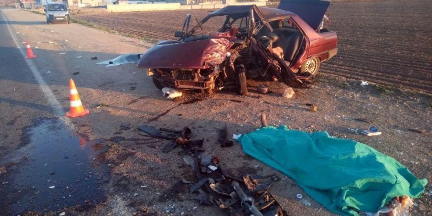 Kahramanmaraş'ta feci kaza: 5 ölü, 4 yaralı