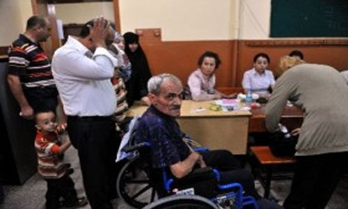Engelli ve Yaşlı Vatandaşlar Oy Kullanmakta Güçlük Çekti!..