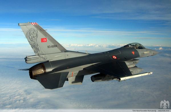 Türk Jetleri Vur Emri ile Havalandı