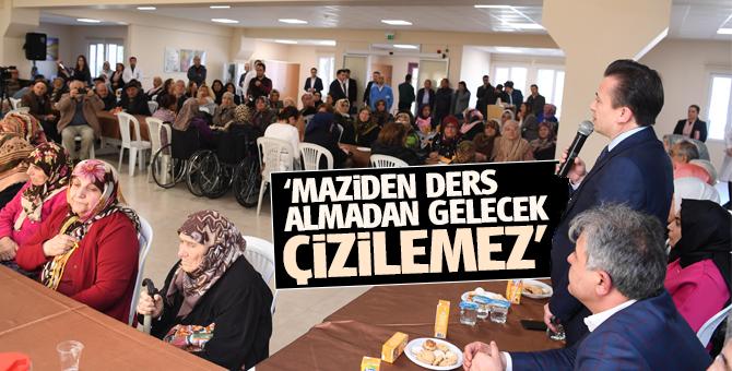 """Başkan Yazıcı: """"Maziden ders almadan gelecek çizilemez"""""""