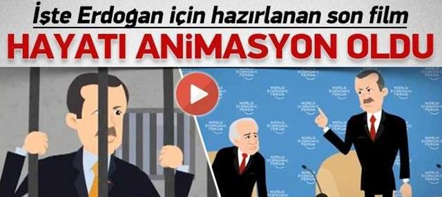 Erdoğan'ın Yeni Animasyon Filmi - İzle