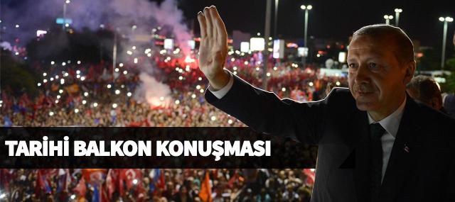 Erdoğan'ın Balkon Konuşması: Seçimleri 77 Milyon Kazandı