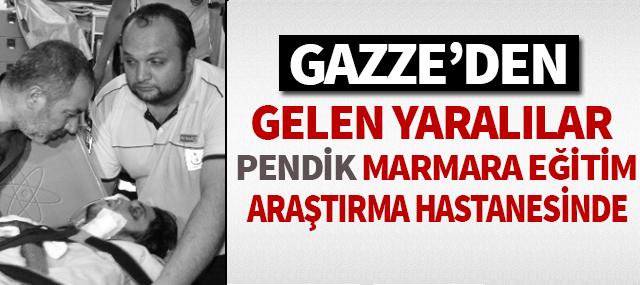 Gazze'den Getirilen Yaralılar Pendik Marmara Üniversiteside tedavi görüyor