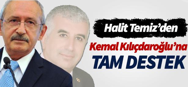 """Pendik Chp İlçe Başkanından """"Kılıçdaroğlu'na"""" Tam Destek"""