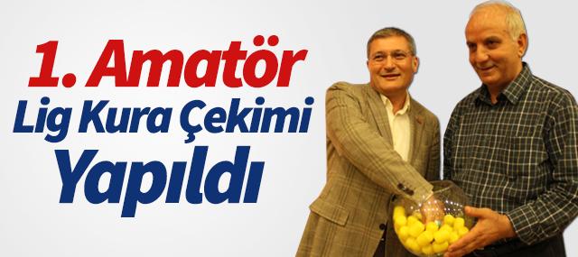 2014 - 2015 1. Amatör Lig Grup Kura Çekimi Yapıldı