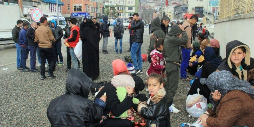 95 sığınmacı Hakkari'ye geldi