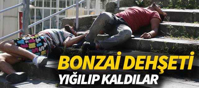 Bonzai, içen gençler merdivene yığıldılar