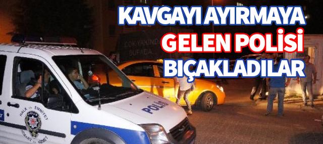 Pendik'te Kavgayı Ayırmaya Çalışan Polis Yaralandı