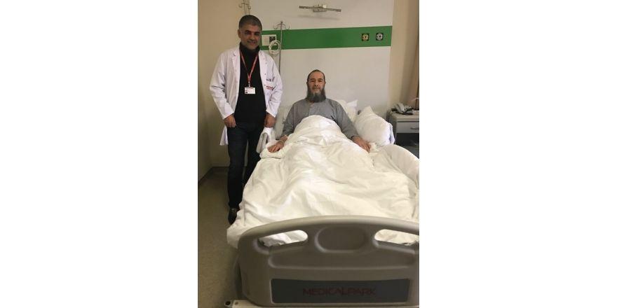 Kanserden laparoskopi ile kurtuldu