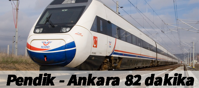 Pendik - Ankara 82 dakika