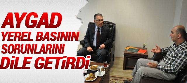 Gazeteci Ümit Kahyaoğlu, Yerel Basın Mensuplarının Sorunularını Görüştü