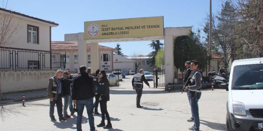 Bolu'da okul çevrelerinde uyuşturucu uygulaması
