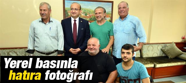 Yalçın Akdoğan, Yerel Basın Mensuplarınıda Unutmadı