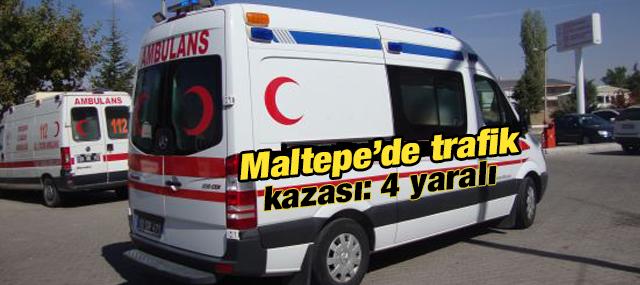 Maltepe'de Trafik Kazası