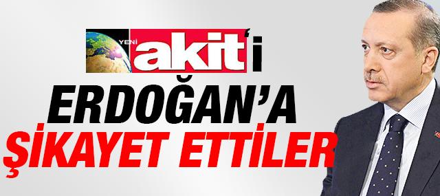 """Yahudiler """"Akit'i"""" Erdoğan'a Şikayet etti"""
