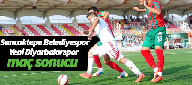 Sancaktepe Belediyespor- Yeni Diyarbakırspor maç sonucu