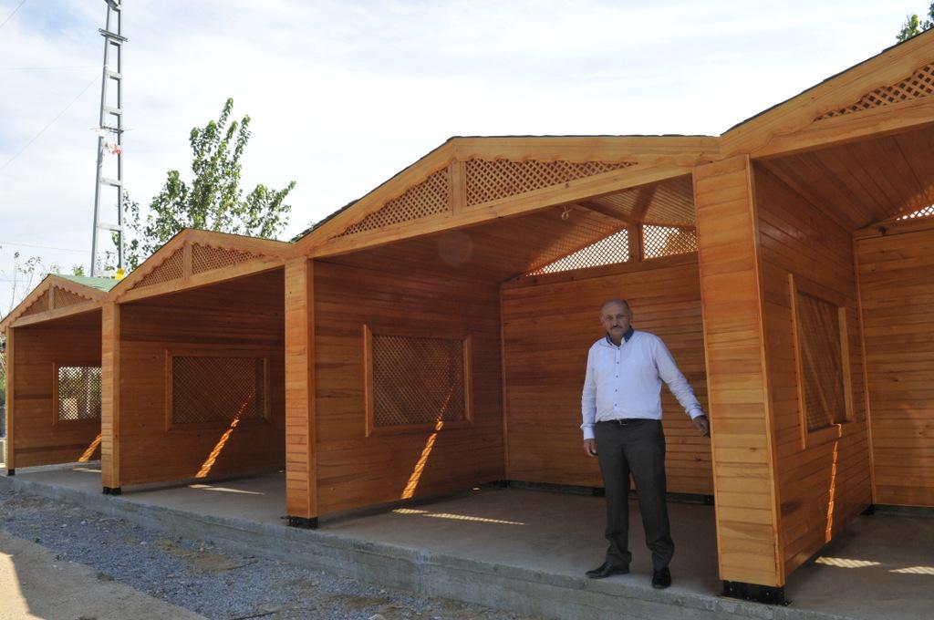 Pendik'te Organik Köy Pazarı