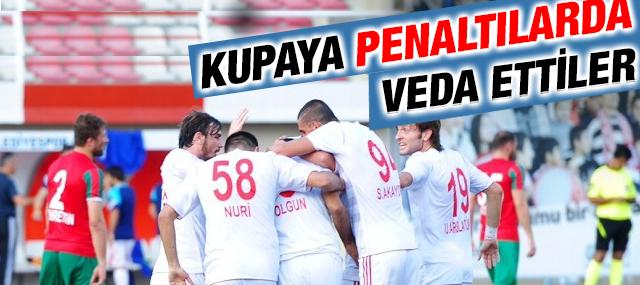 Sancaktepe Belediyespor Penaltılarda Elendi