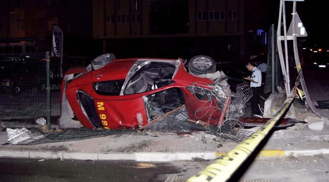 """Sultanbeyli'de gasp edilen taksicinin son sözü """"Kurtarın beni.."""""""