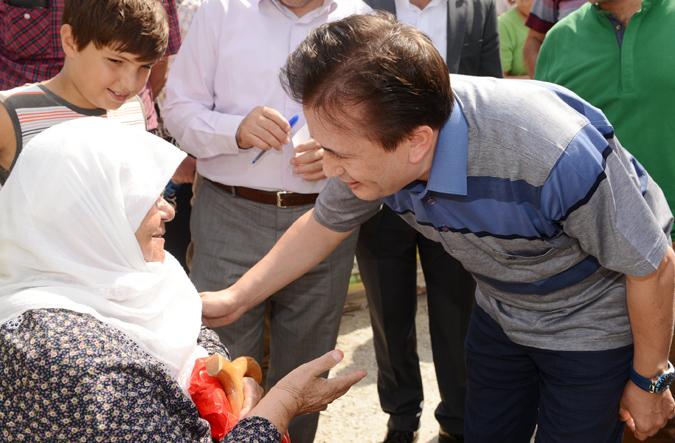 Şadi Yazıcı'dan Penguen Sitesi'ne Geçmiş Olsun Ziyareti