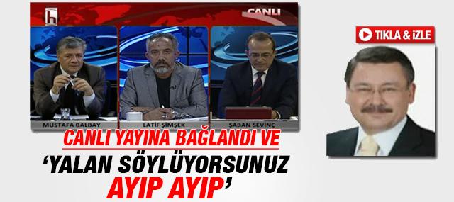 Melih Gökçek Halk TV'de canlı yayına bağlandı