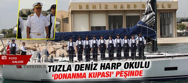 """Tuzla Deniz Harp Okulu """"Donanma Kupası"""" Peşinde"""
