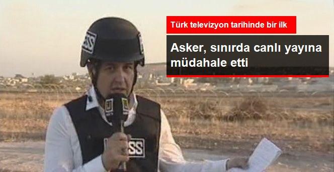 Ülke TV Muhabiri Sinirlendi