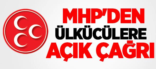 MHP'den ülkücülere çağrı!