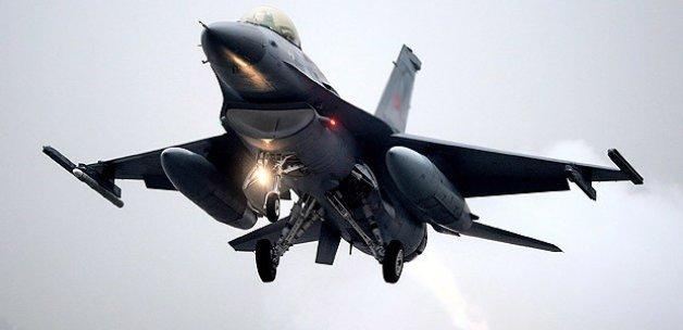 Türkiye'nin F16'ları Sınıra Hareket etti