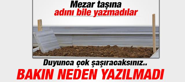 Garipoğlu'nun Adı Mezar Taşına neden yazılmadı