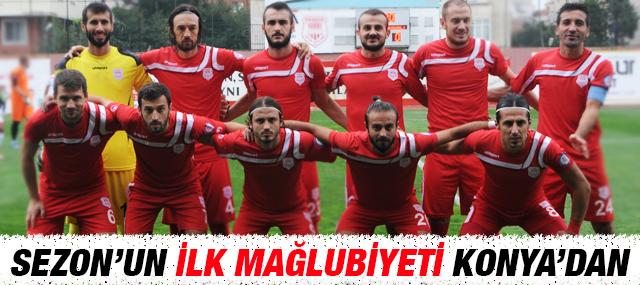 Sezon'un İlk Mağlubiyeti Konya'dan