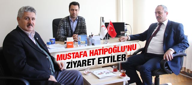 Pendik Toplum Sağlığı Merkezi Müdürü Mustafa Hatipoğlu'na Ziyaret