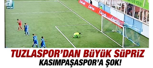 Tuzlaspor Kasımpaşaspor'u 3-1 Yendi