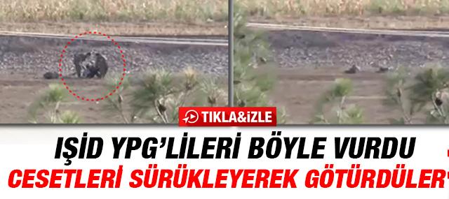 IŞİD YPG'lileri Havan Topu İle Vurdu