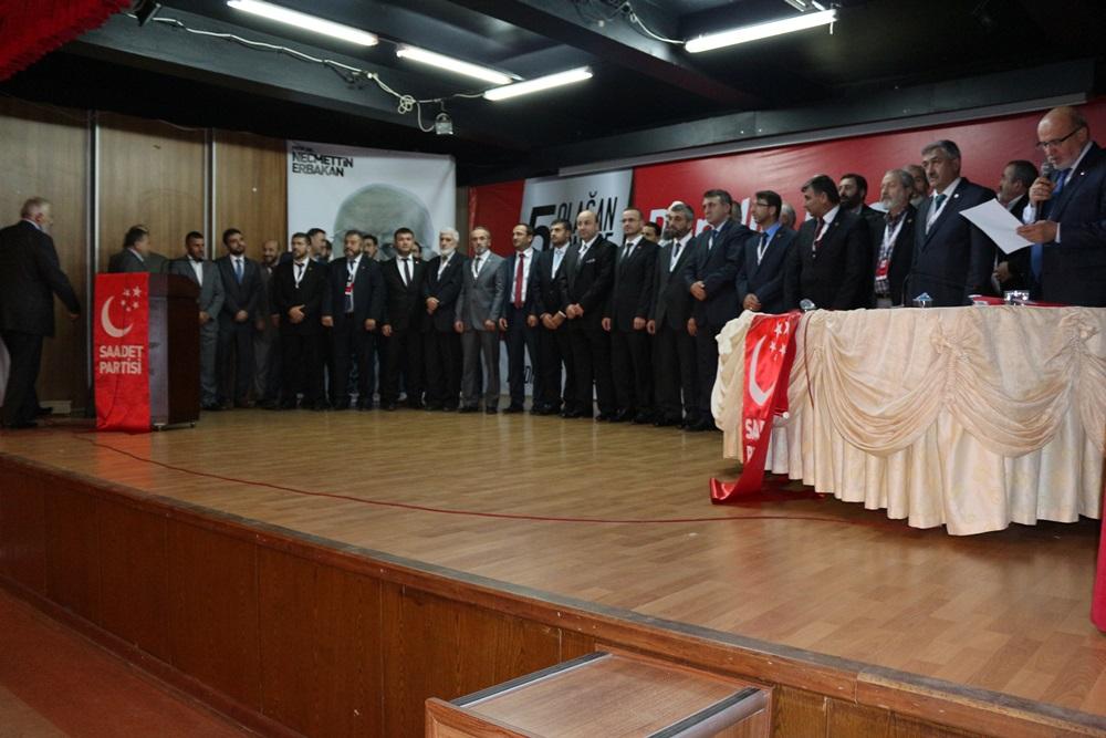 Saadet Partisi Pendik Yönetim Kurulu Listesi - 2014
