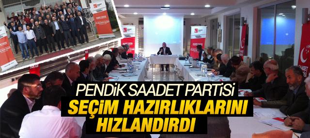Pendik Saadet'ten Genel Seçime Hazırlık Kampı