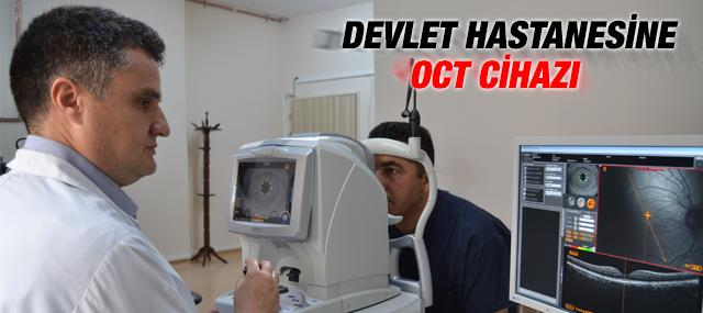 Oct Cihazı Devlet Hastanesi'nde