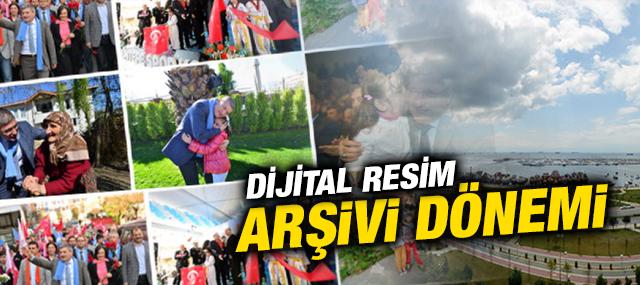 Pendik'in Resim Arsivi Dijital ortama taşındı