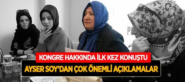 Pendik Kadın Kolları Başkanı Ayser Soy Gazetemize Konuştu