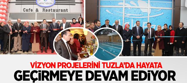 Başkan Yazıcı'nın 2 Vizyon Projesi Daha Hizmete Açıldı