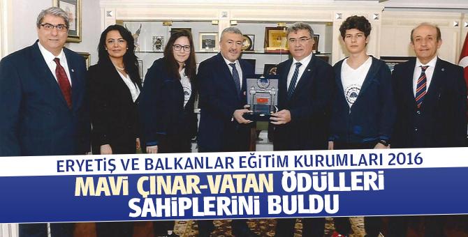 2016 Mavi Çınar ödülleri sahiplerini buldu