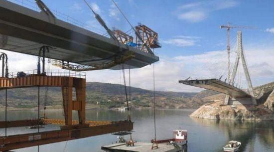 Türkiye'nin 3. büyük köprüsüne son 6 metre