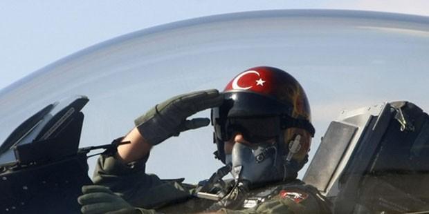 Türk jetini Yunanistan düşürmüş