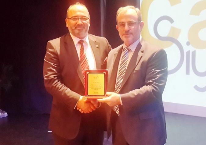 Başkan Yazıcı'ya Yılın Belediye Başkanı Ödülü Verildi