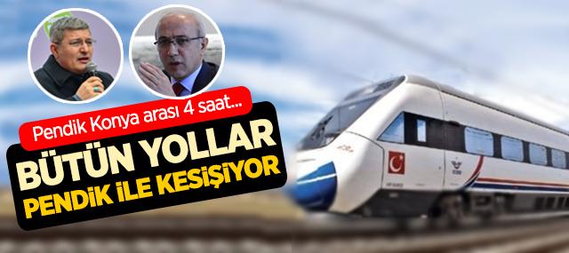 İstanbul Pendik, Konya Arası 4 Saat 15 Dakika