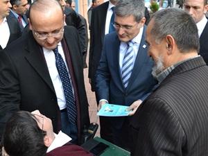 Yalçın Akdoğan'dan Sürpriz Ziyaret