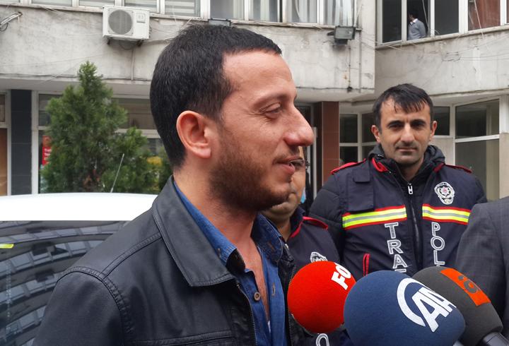 Direksiyonu Bırakıp Horon Tepen Şoför Sultanbeyli'de Çıktı